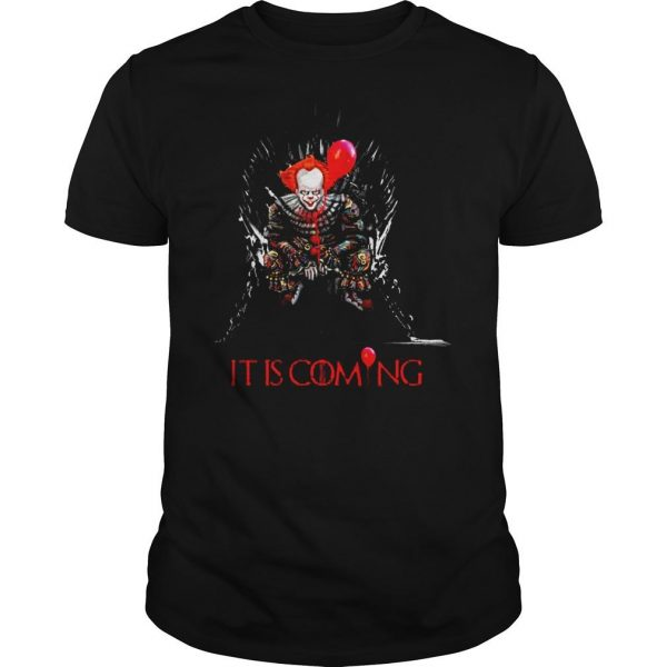 Pennywise It is coming Game of Thrones Halloween shirt