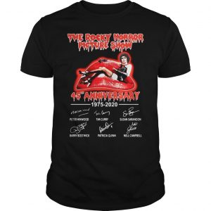 The Rocky Horror Picture Show 45th Anniversary 1975 2020 Shirt