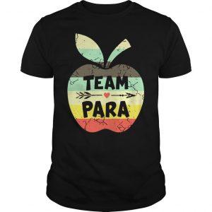 Vintage apple team para shirt Shirt