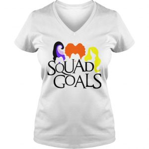 Halloween Squad Goals Shirt Ladies V-Neck