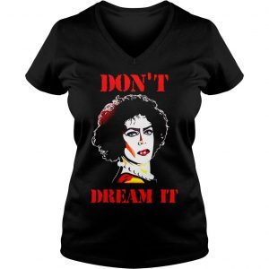 Pennywise and Frank N Furter Dont dream it be it shirt Ladies V-Neck