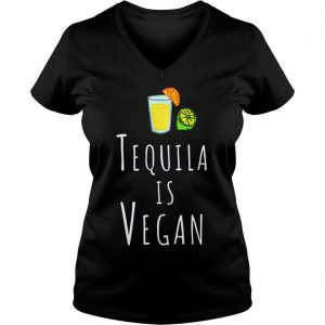 Tequila vegan veggie sweater Ladies V-Neck