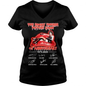 The Rocky Horror Picture Show 45th Anniversary 1975 2020 Shirt Ladies V-Neck