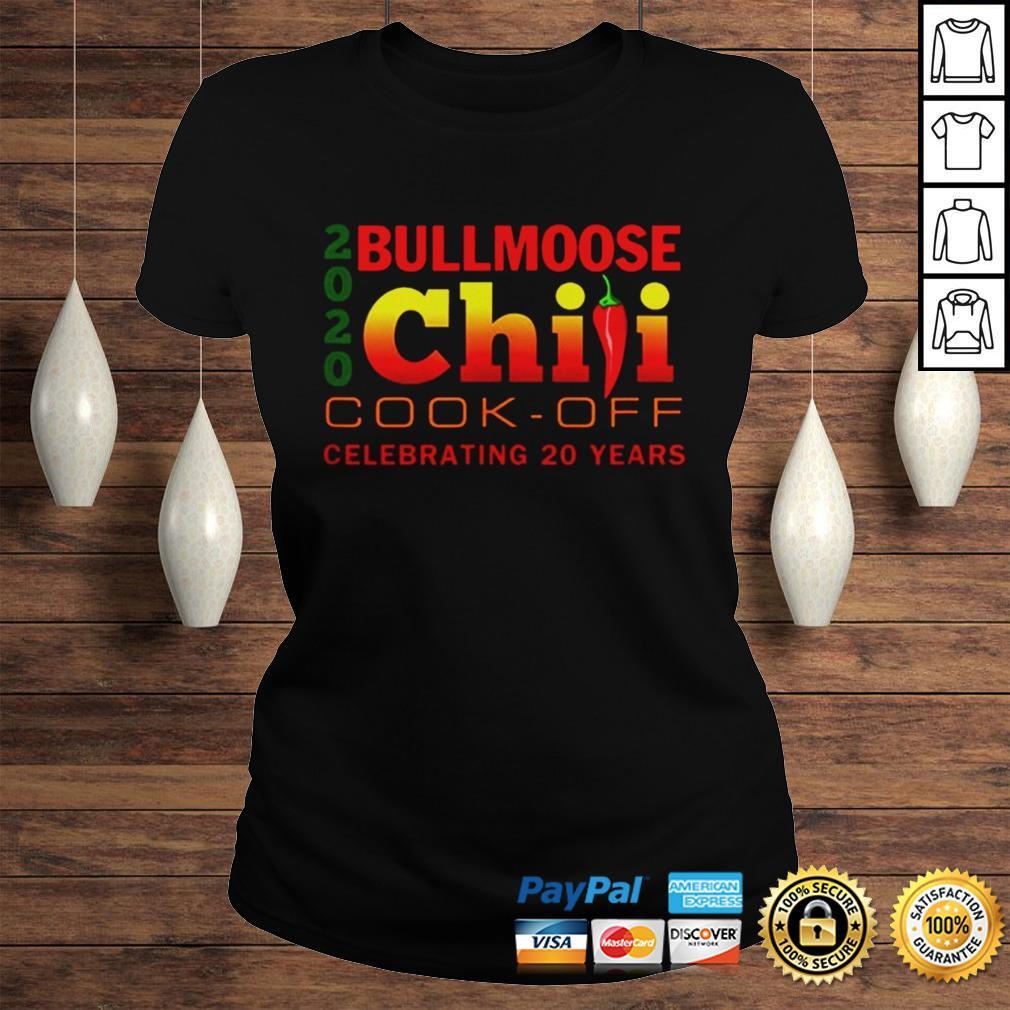 2020 Bullmoose Chili Cookoff TShirt Classic Ladies Tee
