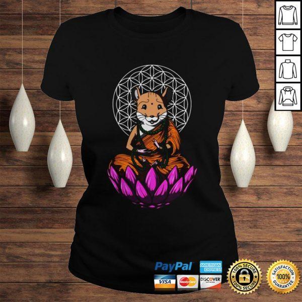 Hamster Mouse Buddha Shirt Classic Ladies Tee