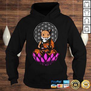Hamster Mouse Buddha Shirt Hoodie