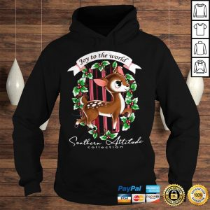 Southern Attitude Joy To The World Christmas Shirt Hoodie