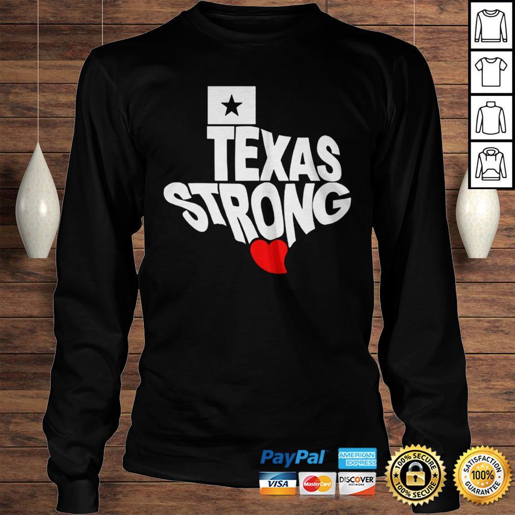 Texas Strong Official TShirt Longsleeve Tee Unisex