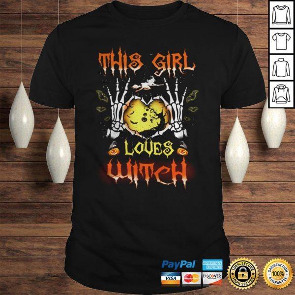 Halloween Shirt Halloween This Girl Love Witch shirt Shirt