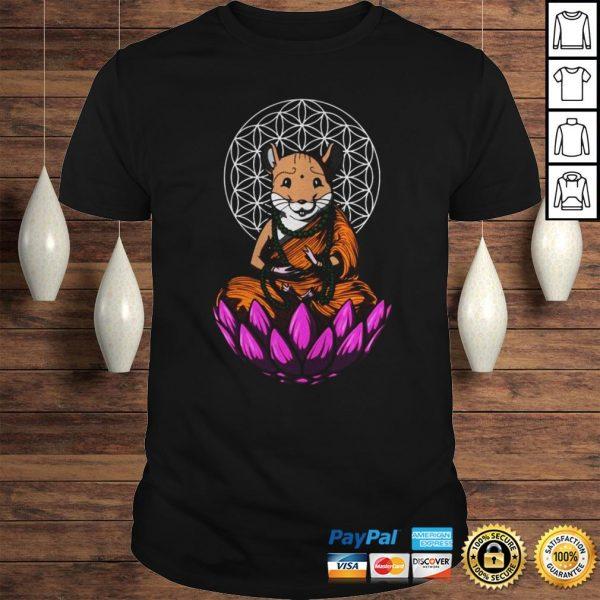 Hamster Mouse Buddha Shirt Shirt