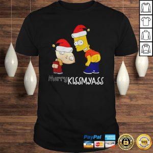 Official Beavis And Butthead Merry Kissmyass Shirt Shirt
