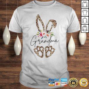 Rabbit leopard Grandma flower shirt Shirt