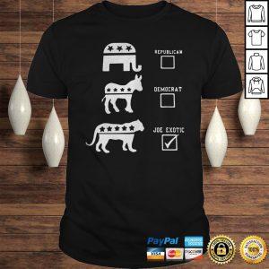 Republican Democrat Joe Exotic shirt Shirt