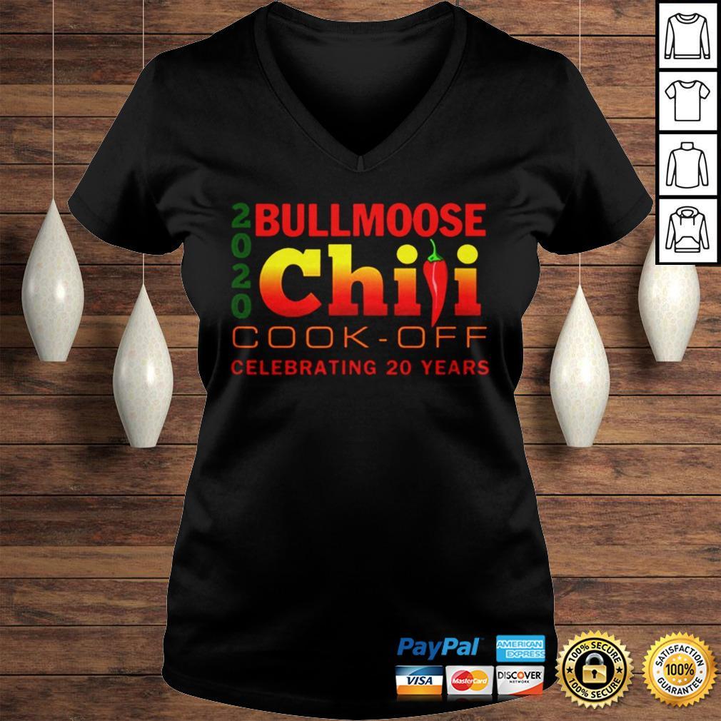 2020 Bullmoose Chili Cookoff TShirt Ladies V-Neck