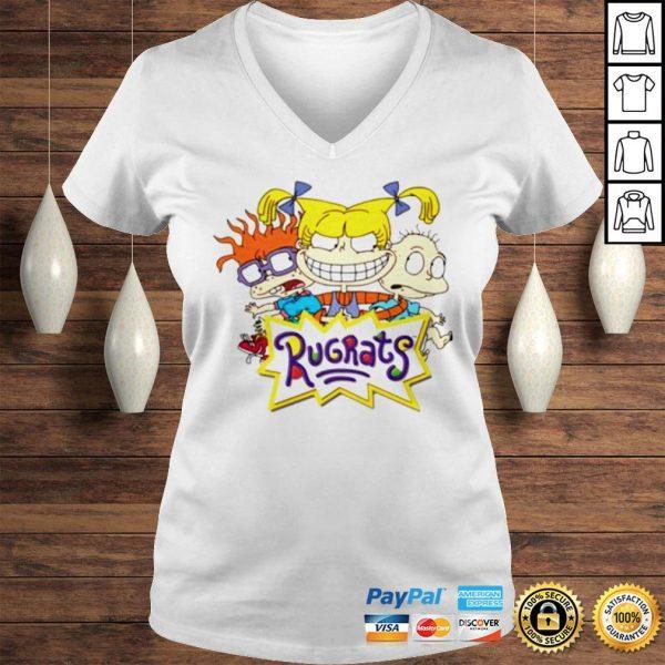 Rugrats Official TShirt Ladies V-Neck