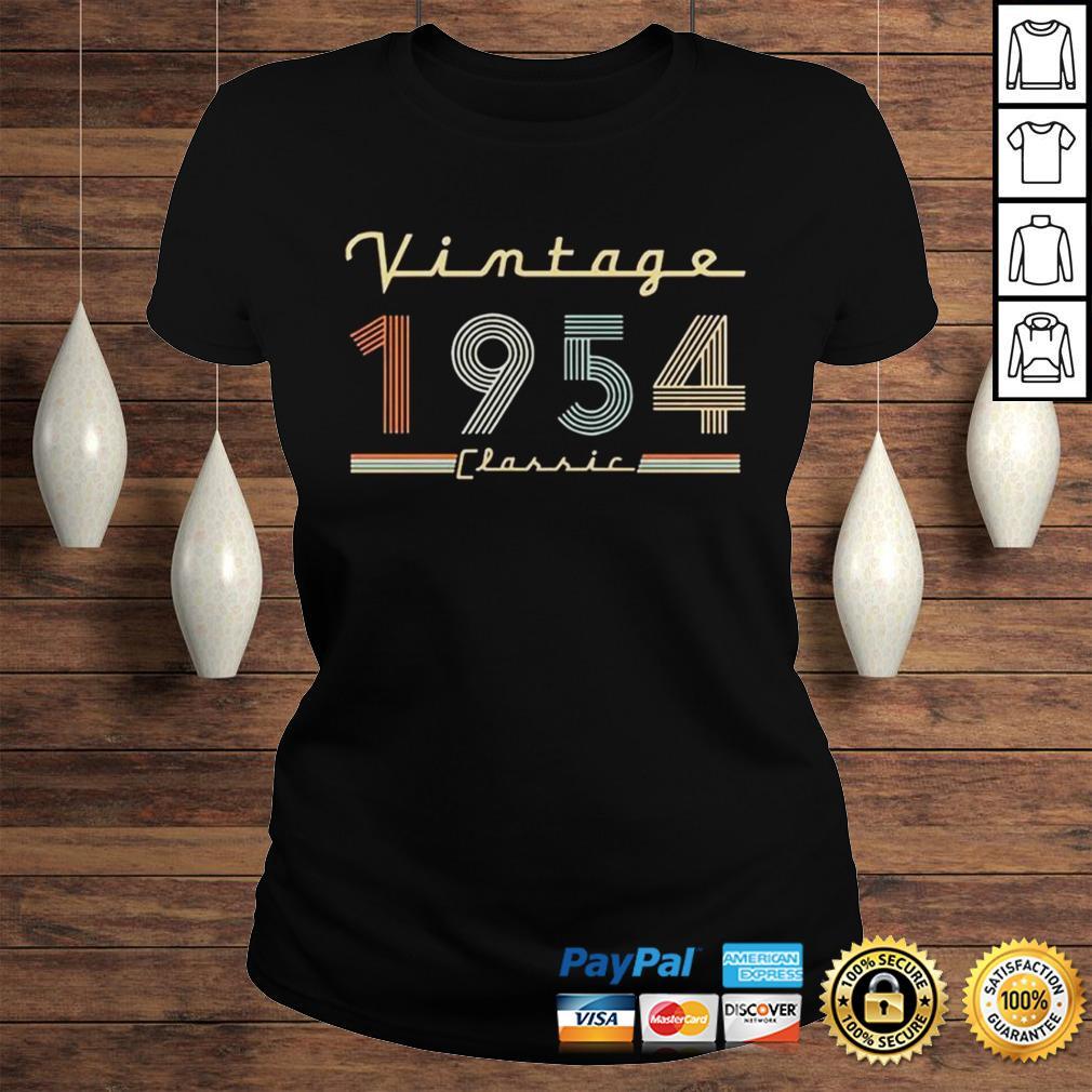 Vintage 1954 Classic Shirt Classic Ladies Tee