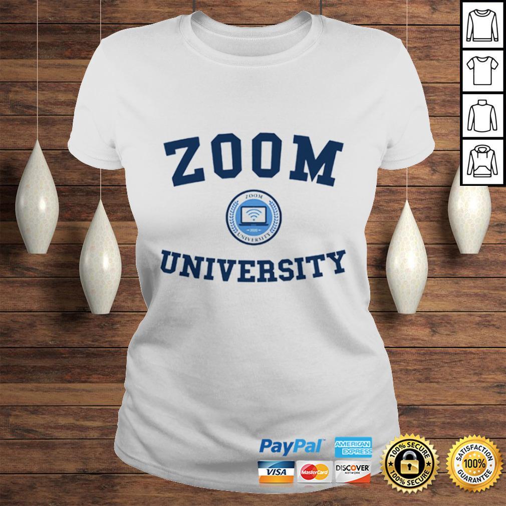 Zoom University US Shirt Classic Ladies Tee