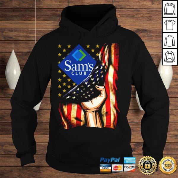 Hand American Flag Sams Club Shirt Hoodie