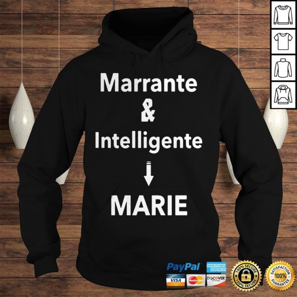 Marrante And Intelligent Marie Shirt Hoodie
