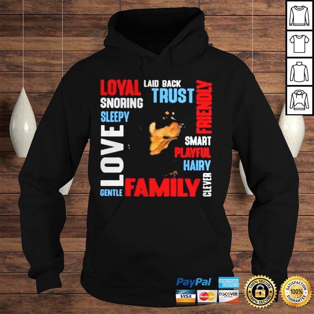 Rottweiler Deion Laid Back Trust Shirt Hoodie
