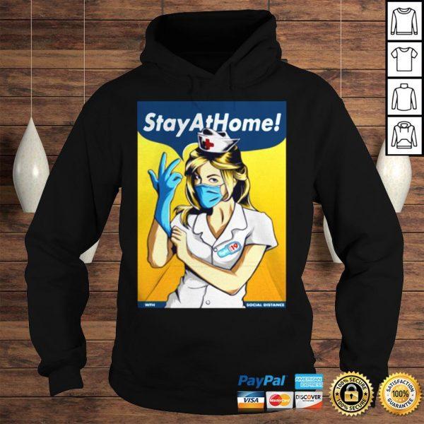 Stay Home Fight Coronavirus For TShirt Hoodie