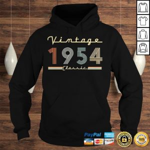 Vintage 1954 Classic Shirt Hoodie