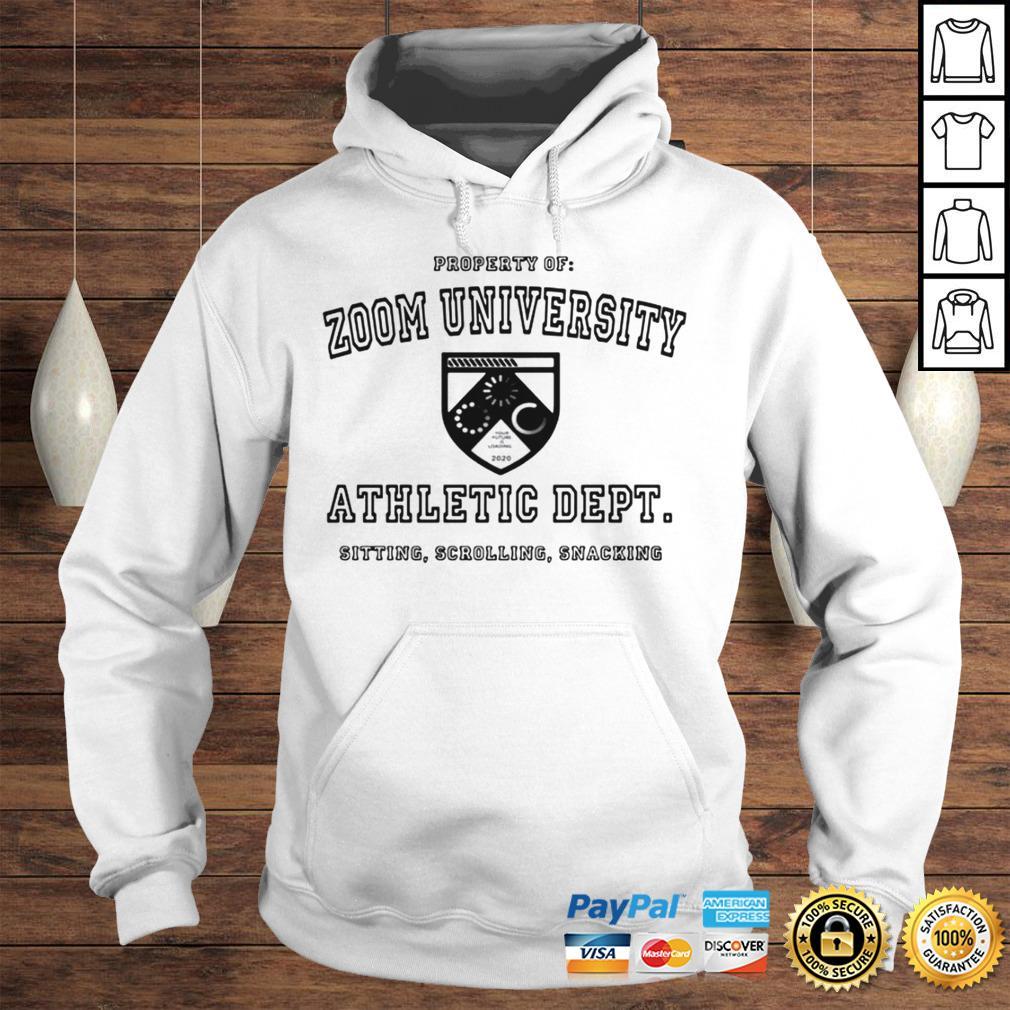Zoom University Athletic Department Shirt Hoodie