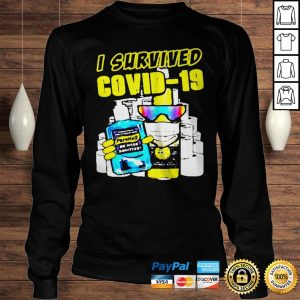 Great Pure Hell I Survived Covid19 shirt Longsleeve Tee Unisex