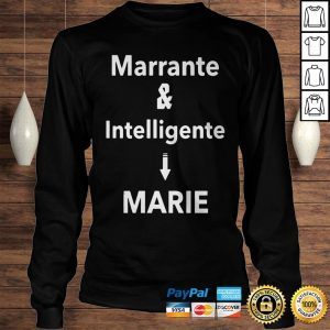 Marrante And Intelligent Marie Shirt Longsleeve Tee Unisex