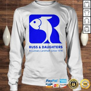 Russ Daughters A Culinary Landmark Since 1914 tom holland shirt Longsleeve Tee Unisex