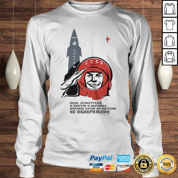 Soviet space gods mens shirt Longsleeve Tee Unisex