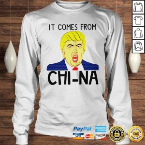 Trump It Comes From China Shirt Longsleeve Tee Unisex