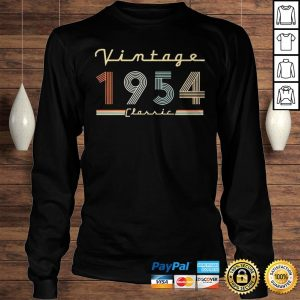 Vintage 1954 Classic Shirt Longsleeve Tee Unisex