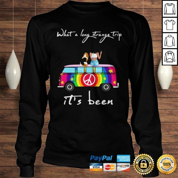 What A Long Strange Trip Its Been Remy And Laviria Hoodie Longsleeve Tee Unisex