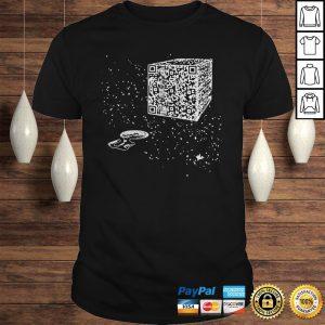 Qr Code Resistance Is Futile Hoodie Shirt