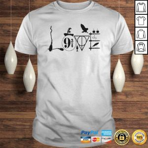 Harry Potter Love Symbol Shirt Shirt