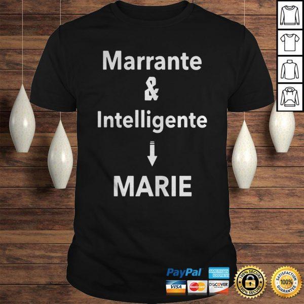 Marrante And Intelligent Marie Shirt Shirt
