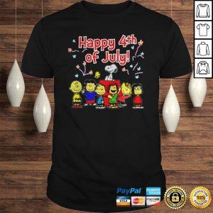 Peanuts Happy 4th of July shirt Shirt