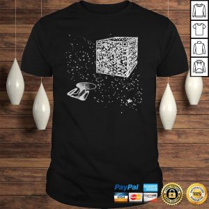 QR Code Cube We Are The Borg Hoodie Shirt