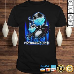 Quarantined Covid 19 Jack Skellington and Zero masked shirt Shirt