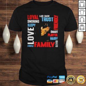 Rottweiler Deion Laid Back Trust Shirt