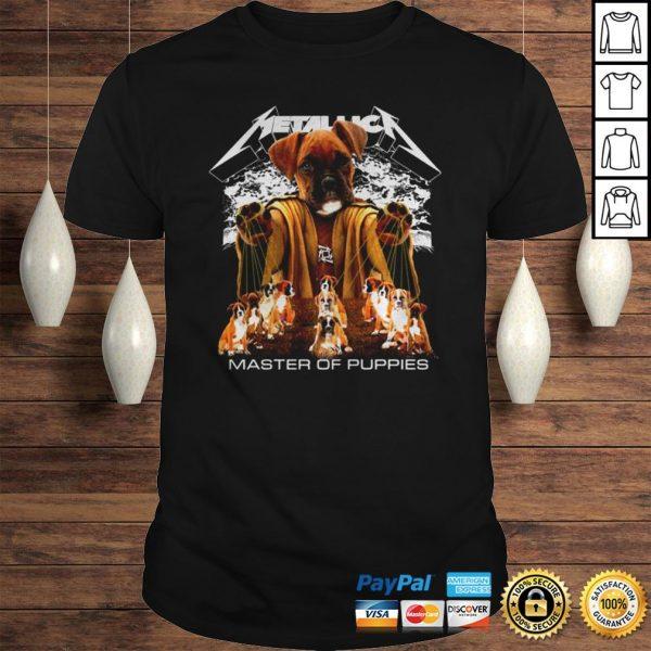 Rottweiler Metallica master of pupies shirt Shirt