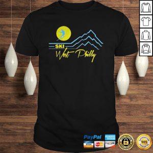 Ski West Philly Tee Shirt Shirt