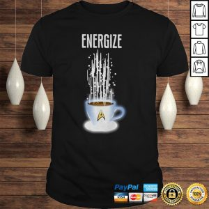 Star Trek Coffee Energize Hoodie Shirt