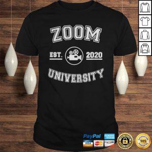 Zoom est 2020 university black shirt Shirt
