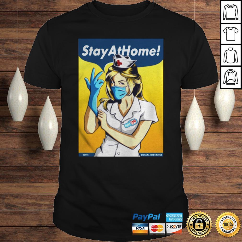 Stay Home Fight Coronavirus For TShirt
