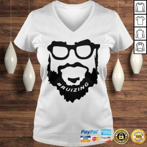 Ruizing Tee Shirts Ladies V-Neck