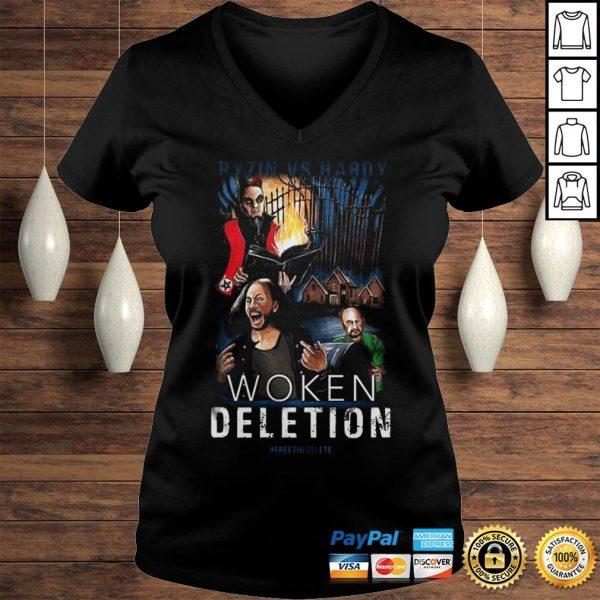 Ryzin Vs Hardy Woken Deletion Shirt Ladies V-Neck