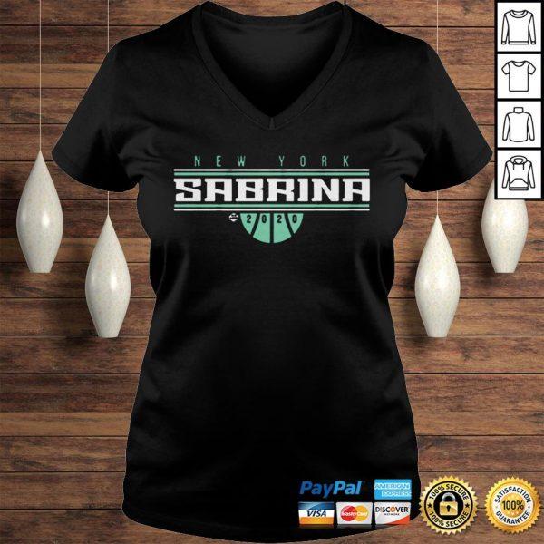 Sabrina Ionescu ShirtNew York For TShirt Ladies V-Neck