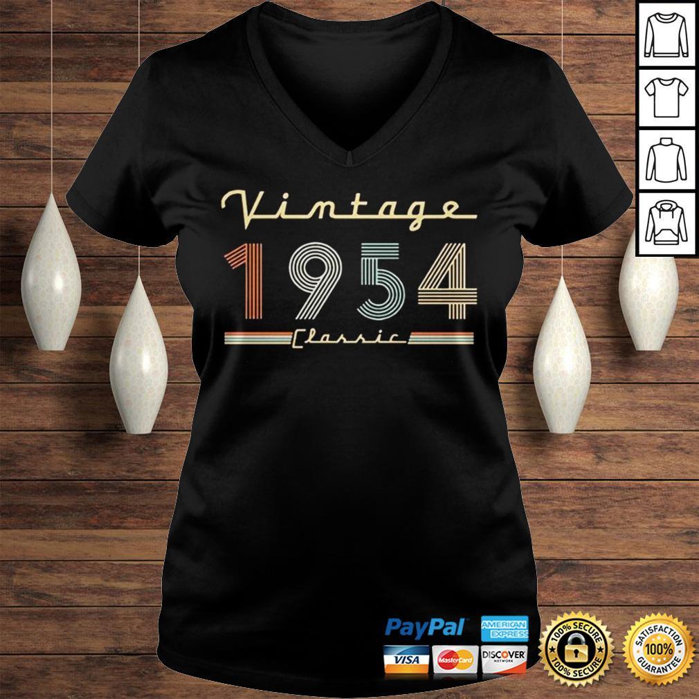 Vintage 1954 Classic Shirt Ladies V-Neck